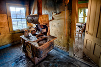Cold Stove, Johl House, Bodie, California