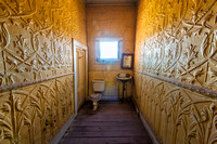 Surreal Washroom, Wheaton & Hollis Hotel, Bodie, California