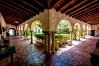 Courtyard, St. Philip's Church, Tucson, Arizona