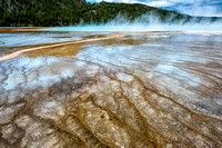 Great  Prismatic Spring, Yellowstone NP, Wyoming