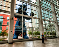 Big Blue Bear, Colorado Convention Center, Denver, Colorado