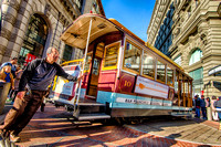 Powell Street Car Turnaround, San Francisco, California