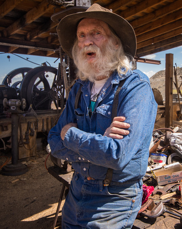 Don, Owner of Ghost Town, Jerome, Arizona