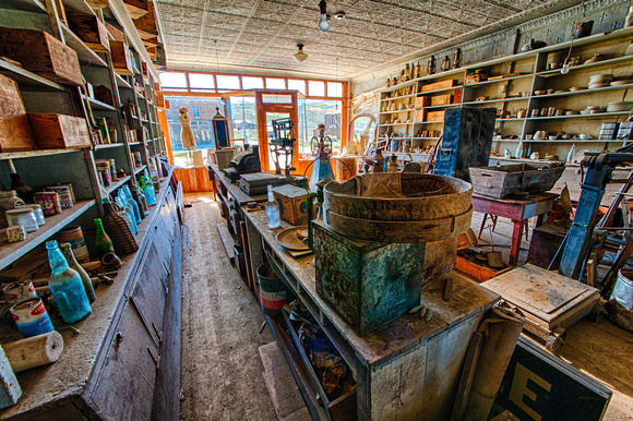 The View From Back, Boone Store & Warehouse, Bodie, California