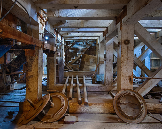 Undergirded by Geometry, Standard Stamp Mill, Bodie, California