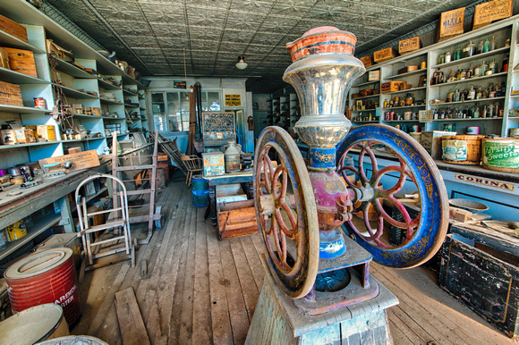 Coffee Grinder, Boone Store & Warehouse, Bodie, California