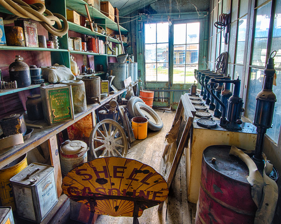 Oil & Gas, Boone Store & Warehouse, Bodie, California